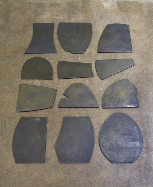 , 'Reverse Tablet Fragments (12 Available),' 2015, Patrick Parrish Gallery