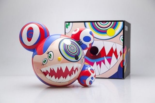 Takashi Murakami, 'Mr DOB Figure By BAIT x SWITCH Collectibles - Original', 2016, Sculpture, Painted cast vinyl, Lougher Contemporary Gallery Auction