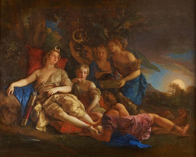 , 'Le repos de Diane (The Rest of Diana),' 1688, Château de Versailles