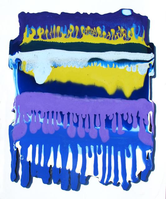 , 'Trickle Purple,' 2018, Cynthia Corbett Gallery
