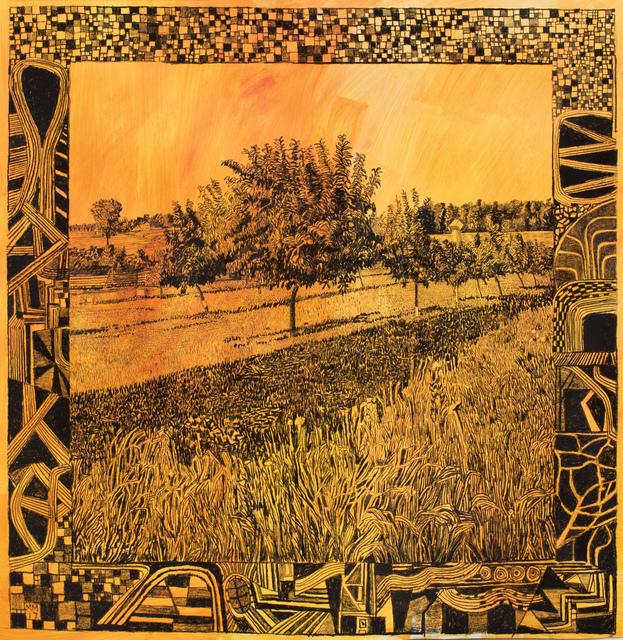 , 'The Peach Orchard (2nd version),' 2017, Fleisher/Ollman