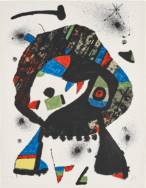 Joan Miró, 'El Merma', 1978, Fairhead Fine Art Limited