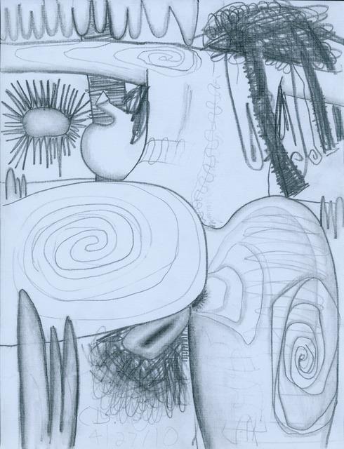 Carroll Dunham, 'Untitled (4/27/10)', 2010, David Nolan Gallery