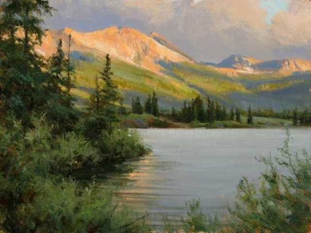 , 'Molas Lake - Sundown,' , Sorrel Sky Gallery