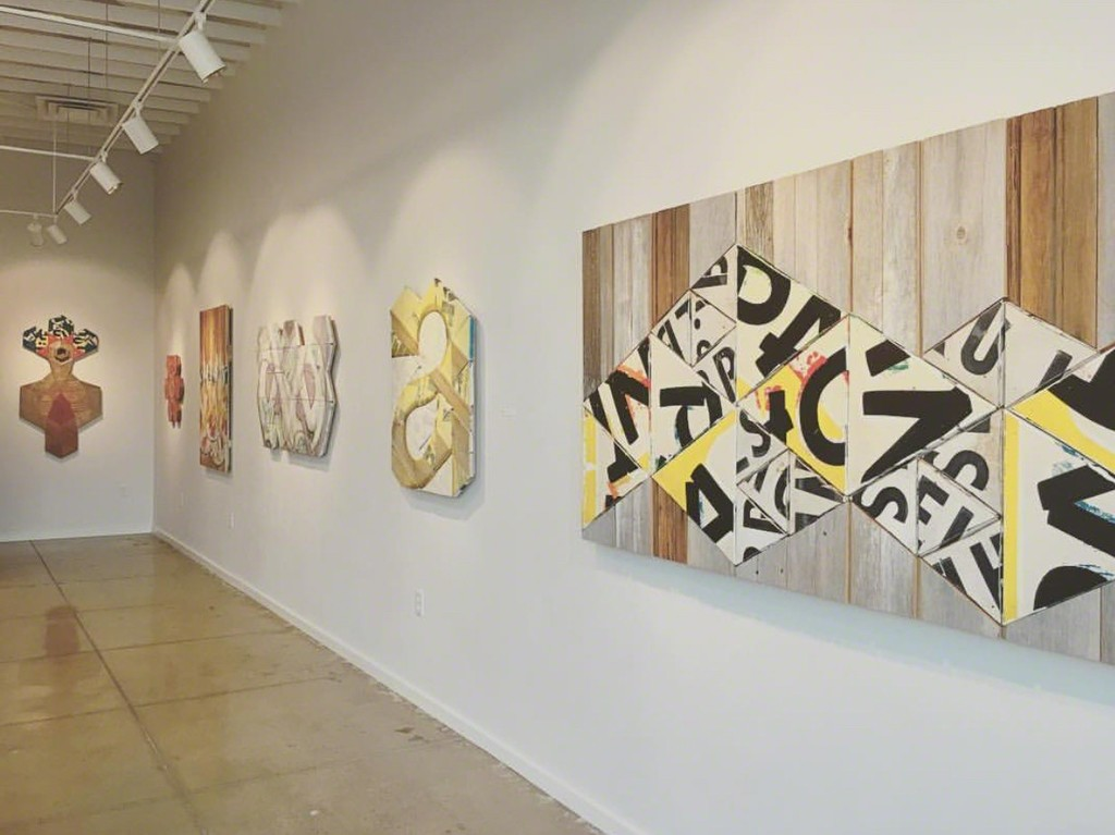 "Installation view, ""Phoneme"" exhibition"