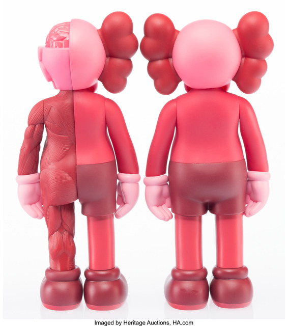 KAWS, 'Companion (Open Edition) (2 works)', 2016, Other, Painted cast vinyl, Heritage Auctions