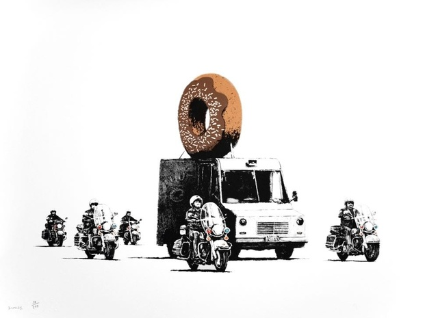 , 'Chocolate Donuts signed,' 2009, Lionel Gallery