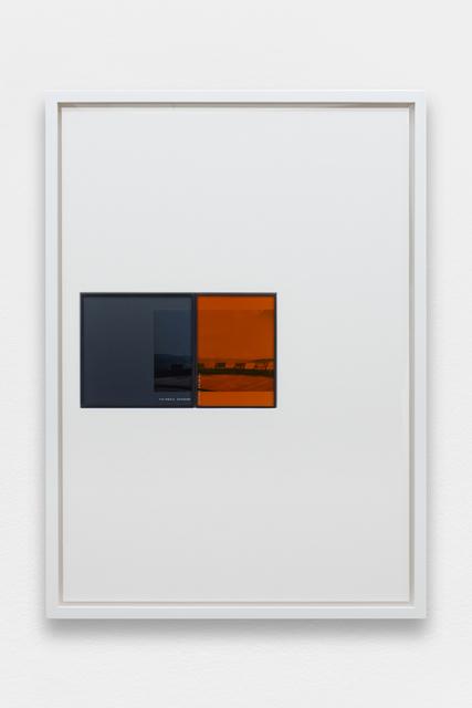 , 'IRND Platinium/Amber/2,' 2016, Galerie Allen