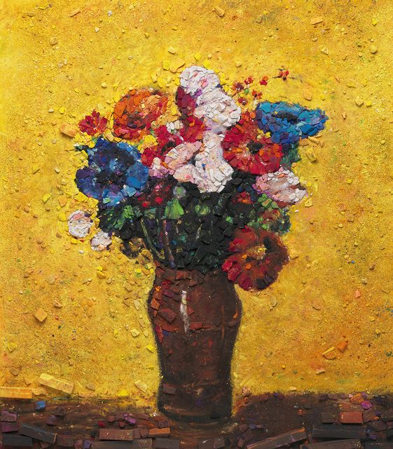 , 'Metachrome (Flowers, after Redon I),' 2016, Galerie Xippas