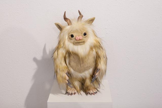 ", 'Blizzard Beast ""Gleep"",' 2017, Flower Pepper Gallery"