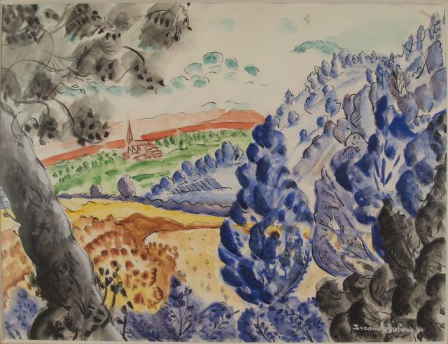 , 'Paysage a l'arbre blue,' 1944, Francis M. Naumann Fine Art