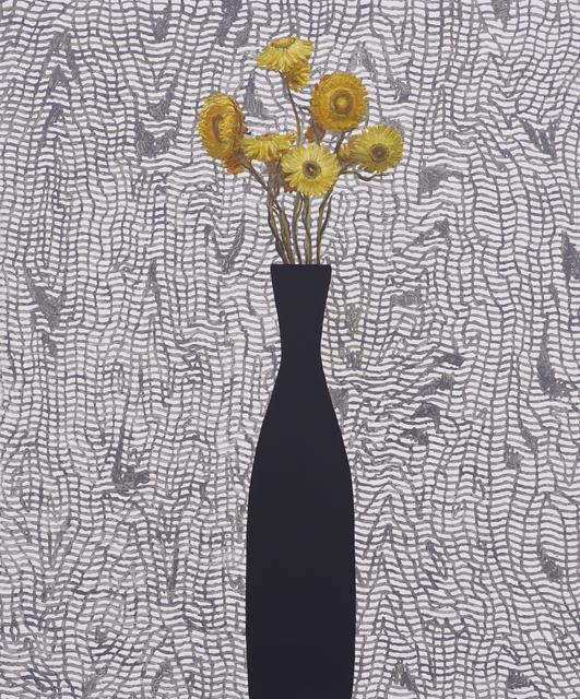 , 'Yellow Strawflowers, Morie,' 2015, Tibor de Nagy