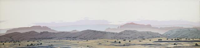 Mark Knudsen, 'Mist on Moab Rim', 2018, Phillips Gallery