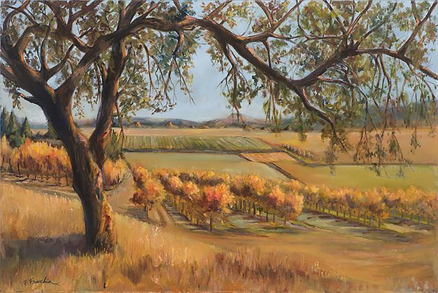 Barbara Fracchia, 'California Vineyard', 2018, Pleiades Gallery