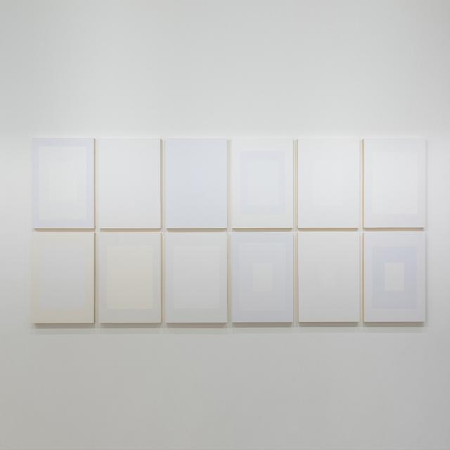 , '66 x 96 ( Série Brancos ),' 2017, Galeria Raquel Arnaud