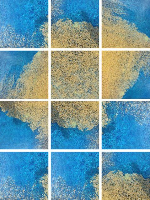 , 'Yellow and Blue Series,' 2015, Janet Rady Fine Art