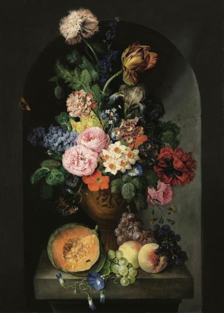 Franz Xaver Petter, 'Flower still life with butterflies', Galerie Kovacek