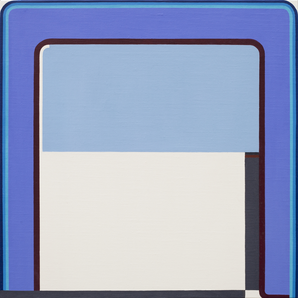 Kess InHouse Heidi Jennings Curiousity Cool Blue Wall Tapestry 68 X 80
