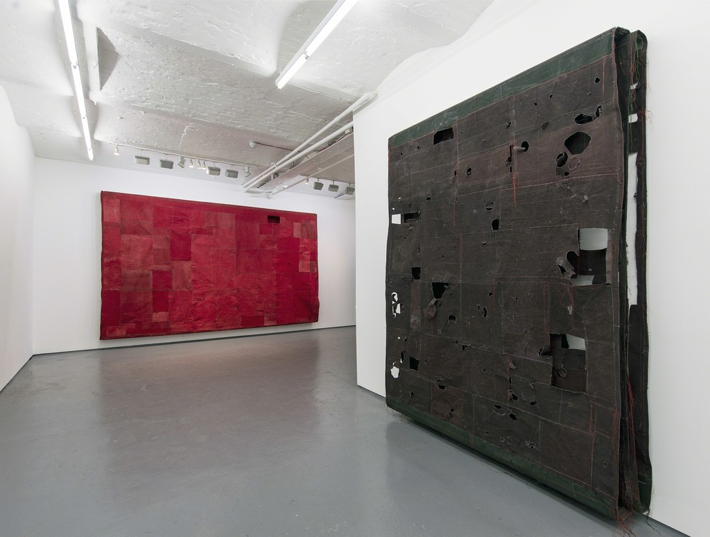 Simon Callery | Flat Paintings, installation view