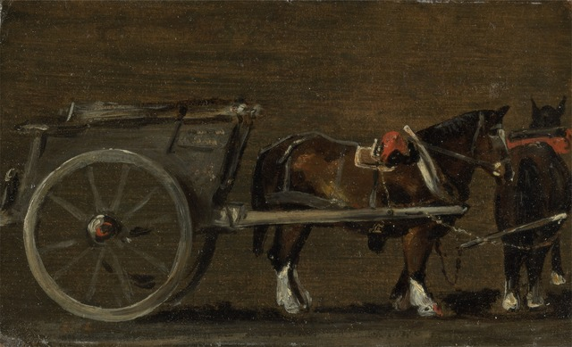 John Constable, 'Horse and Cart', ca. 1814, Yale Center for British Art