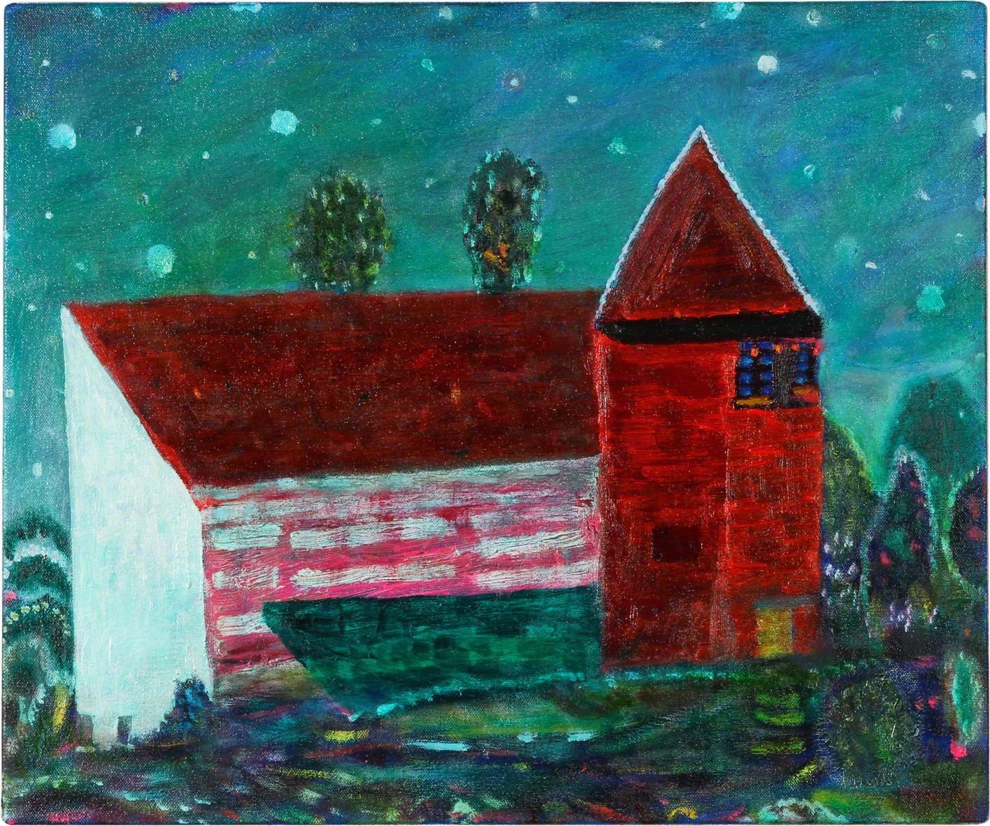 , 'red house,' 2012, Tomio Koyama Gallery