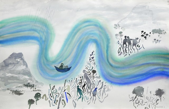 , 'Big River Series (No 2) A,' 2008, Gallery LVS