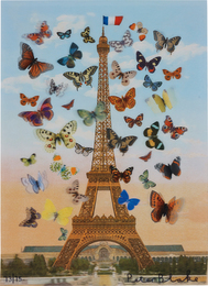 Peter Blake, 'Eiffel Tower,' 2013, Phillips: Evening and Day Editions