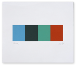 Ellsworth Kelly, 'Blue Gray Green Red,' 2008, Friends Seminary: Benefit Auction 2017