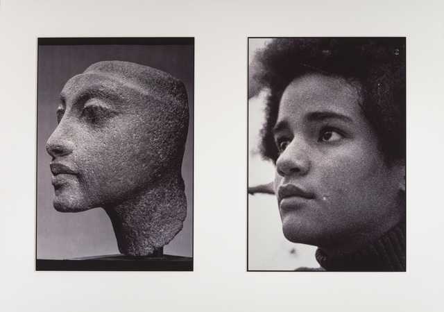 ", 'Sisters III (L: Nefertiti's daughter, Maketaten; R: Devonia's Daughter, Kimberley), from the ""Miscegenated Family Album"",' 1980, The Studio Museum in Harlem"
