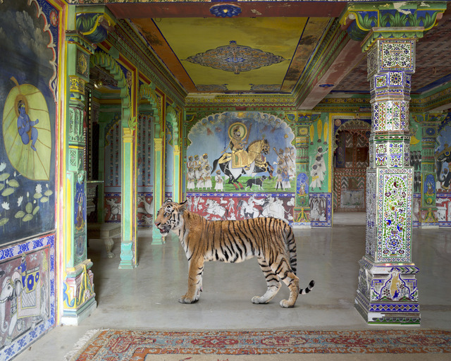 ", 'Arjuna's Path, Junha Mahal, Dungarpur. From the series ""India Song"",' 2014, Danziger Gallery"