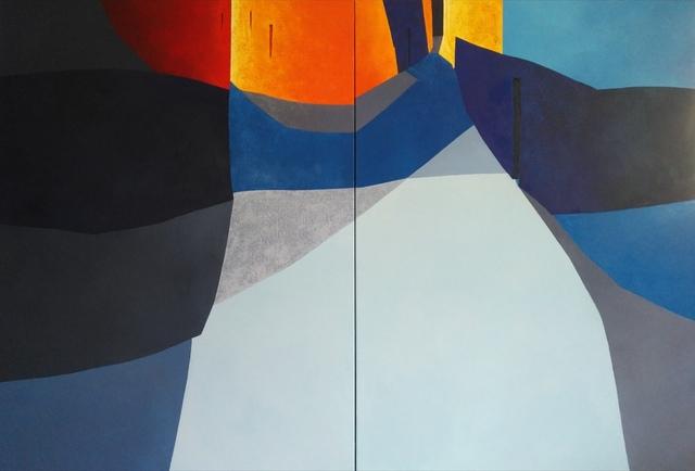 Tomàs Sunyol, 'Streets (diptych)', 2019, Villa del Arte Galleries
