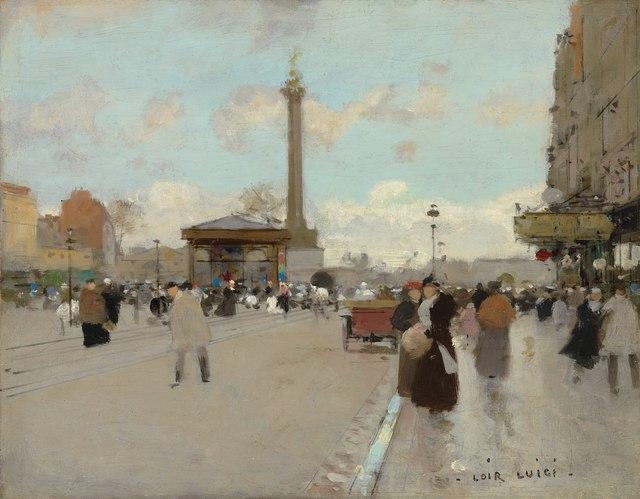 , 'Place de la Bastille, Paris,' , Stoppenbach & Delestre