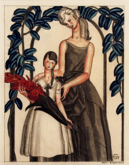 Jean Dupas, 'Mother and Daughter - Original Artwork', 1929, Omnibus Gallery
