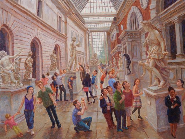 , 'Metropolitan Museum,' 2014, 532 Gallery Thomas Jaeckel