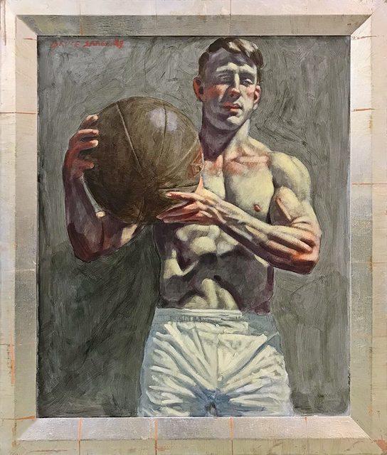 , '[Bruce Sargeant (1898-1938)] Benjamin Holding Medicine Ball,' , John Wolf Art Advisory & Brokerage