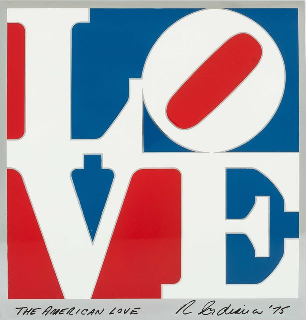 Robert Indiana, 'The American Love', 1975, Heritage Auctions
