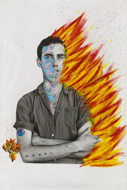 , 'Self-Portrait of David Wojnarowicz,' 1983-1984, Whitney Museum of American Art