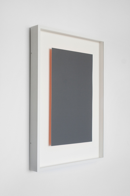 , 'Achromatopsia 1 (orange),' 2015, Tamarind Institute