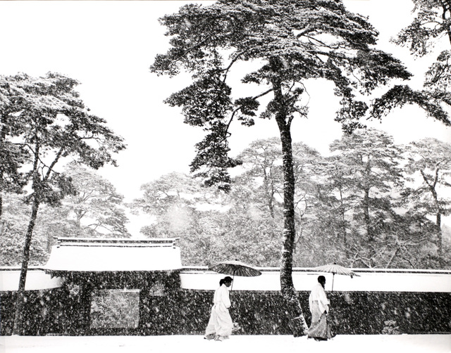 , 'In the Court of the Meiji Shrine, Tokyo, Japan,' 1952, Bruce Silverstein Gallery