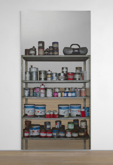 , 'Scaffale - con radio (Shelves - with radio),' 2015, Simon Lee Gallery