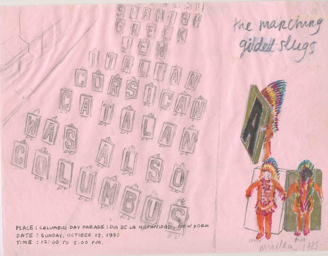 Antoni Miralda, 'The Marching Gilded Slugs', 1985, Henrique Faria Fine Art