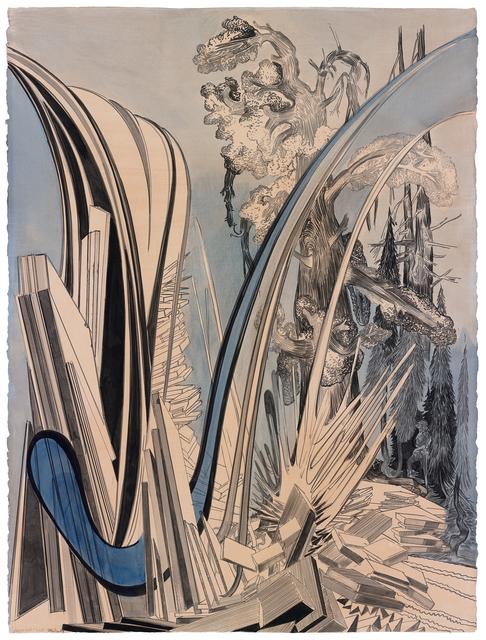 , 'Wasserfall groß,' 2015, Galerie Kleindienst