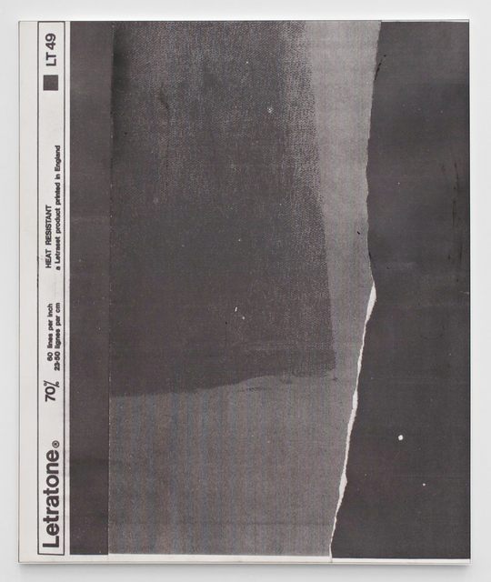 , 'E.H.D (Letratone LT49#02),' 2015, Johannes Vogt Gallery
