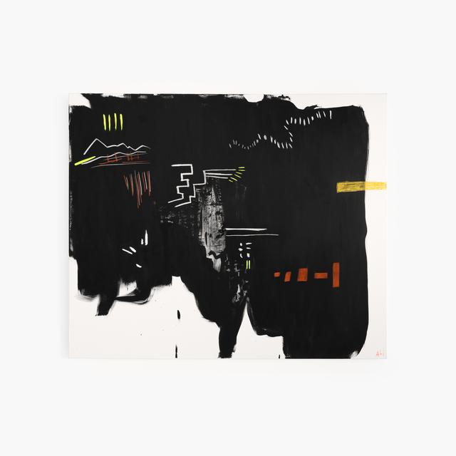 , 'Neon Markings,' 2017, Tappan