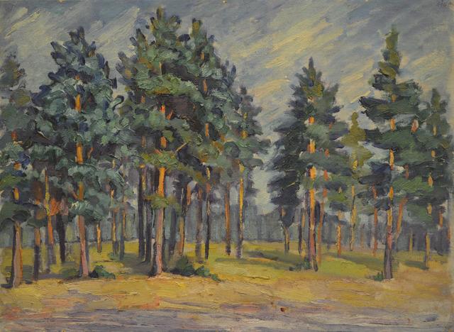 Anton Stanislavovich Yastrzhembsky, 'Early in the morning', 1925, Surikov Foundation