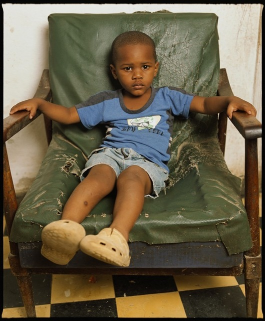 , 'Yaikel on a green chair, Havana (Cuba),' 2012, Galerie Nathalie Obadia