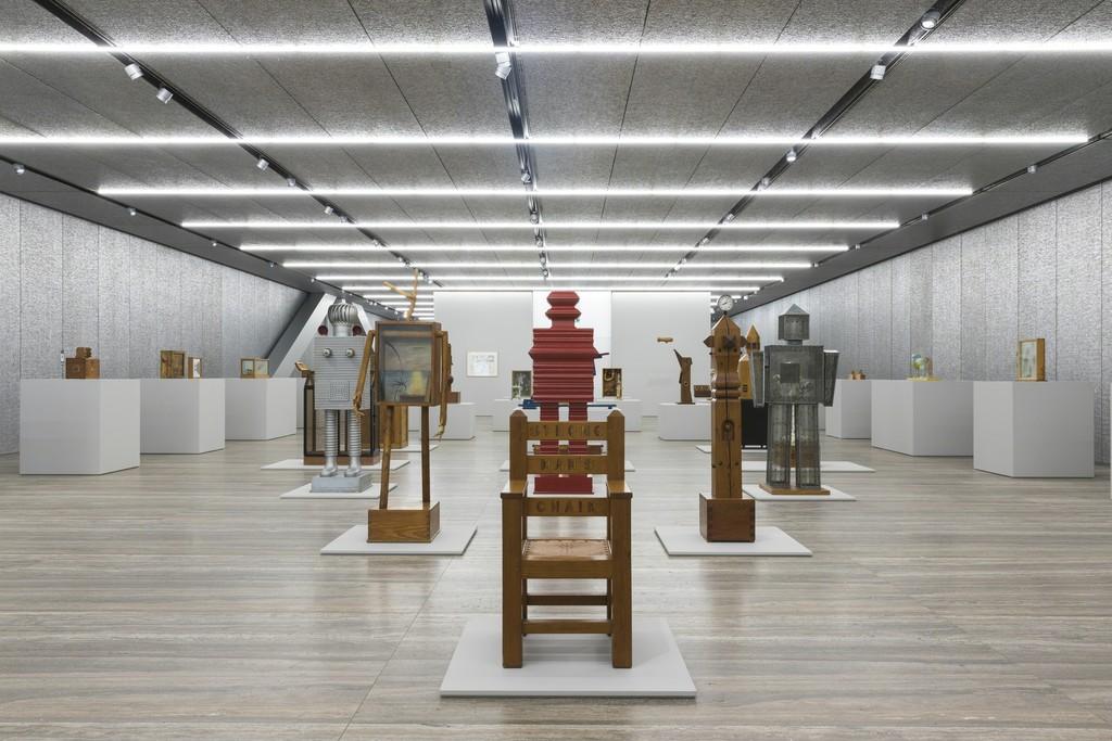 """View of the exhibition """"H. C. Westermann"""" Fondazione Prada, Milan 20 October 2017 - 15 January 2018 Photo Roberto Marossi Courtesy Fondazione Prada"""