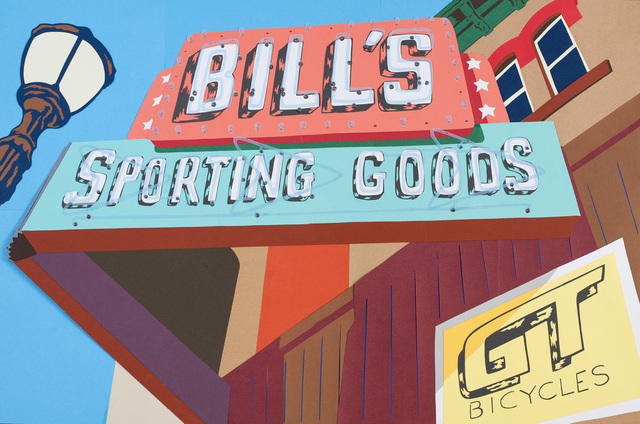 , 'Bill's Sporting Goods,' 2016, InLiquid