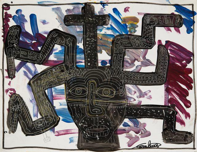 , 'TÊTE CROIX ET MONSIEUR TORTUEUX,' 2016, Galerie Caroline Smulders