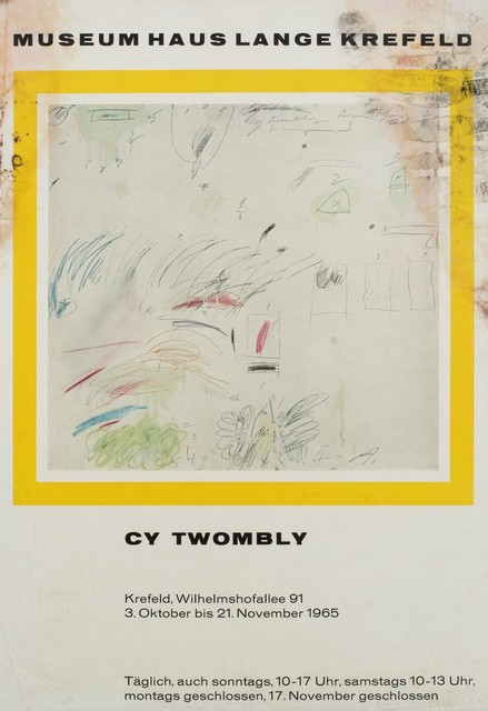 Cy Twombly, 'Cy Twombly', 1965, Finarte